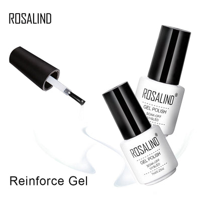 Top Base Coat Gel Polish UV Shiny Sealer Soak off Reinforce 7ml Long Lasting Nail Art Manicure Gel Lak Varnish Primer