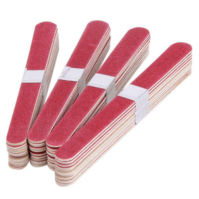 BLUE ZOO - 40pcs Nail File Manicure Pedicure