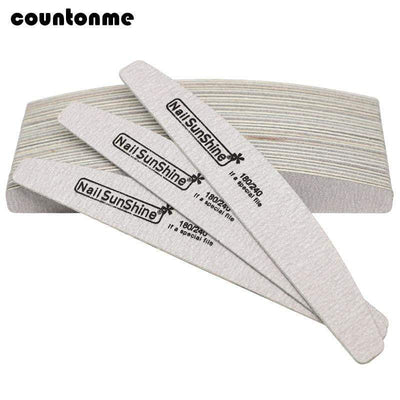 COUNTONME - 7Pcs Wooden Nail File