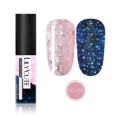 LILYCUTE - Luminous Glitter Gel