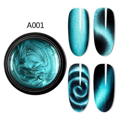 Magnetic 5D Cat Eye UV Gel Nail Polish Magnet Laser