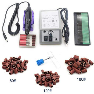 SOLOLADY - Electric Nail Drill Bits Set