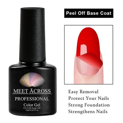 MEET ACROSS - Peel Off Gel
