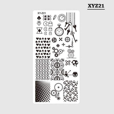 STZ - Mixed Design Stainless Steel