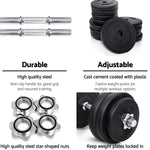Load image into Gallery viewer, Everfit Fitness Gym Exercise Dumbbell Set 30kg