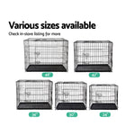 Load image into Gallery viewer, i.Pet 24inch Pet Cage - Black