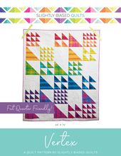 Load image into Gallery viewer, Vertex PDF Quilt Pattern - Automatic Download