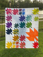 Load image into Gallery viewer, Changing Leaves PDF Quilt Pattern - Automatic Download