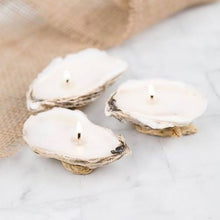 Load image into Gallery viewer, 3 Piece Oyster Candle Gift Set