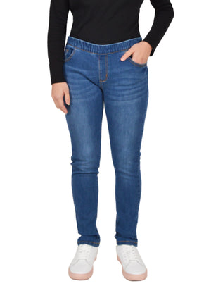 Cheetah Ladies Skinny Cut Denim Jegging - CL-51120