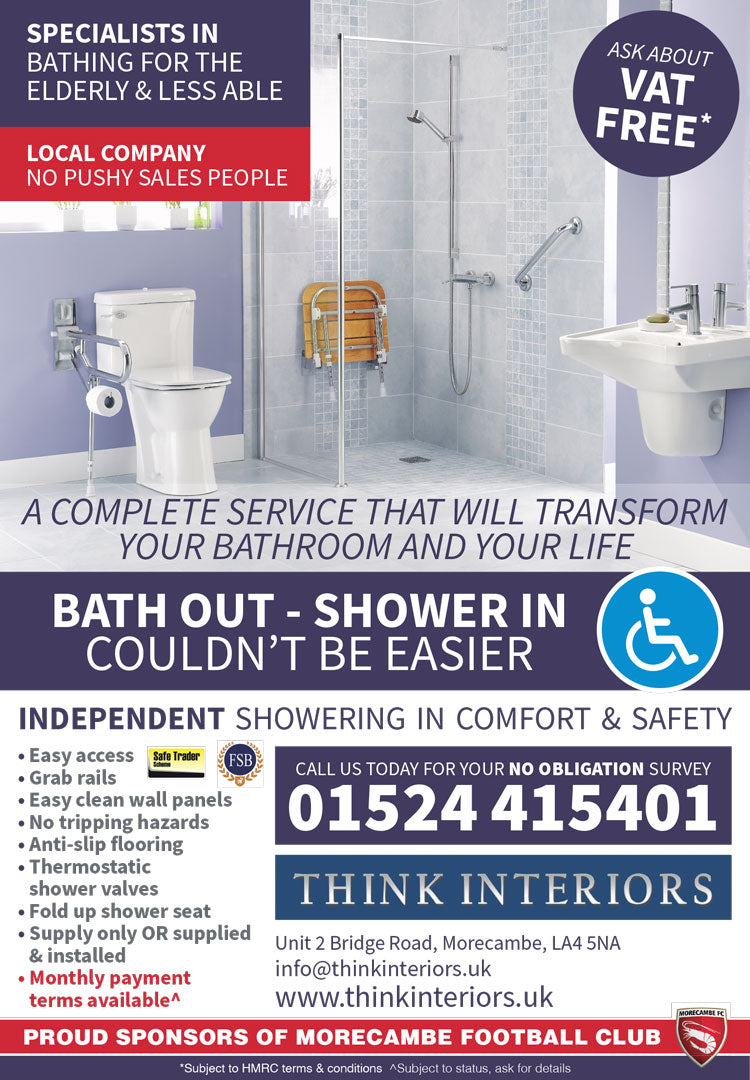 Think Interiors Bathrooms in Morecambe - Local Choice Ad June