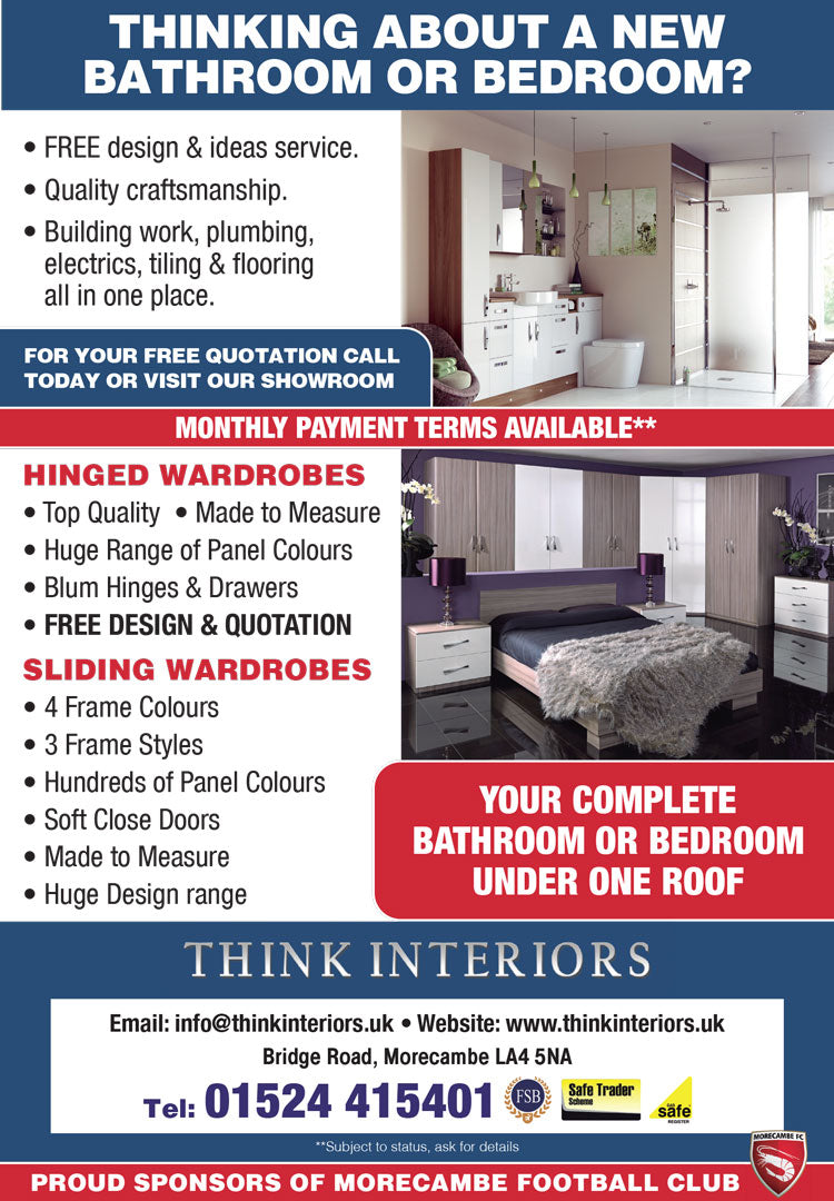 Local choice for bedroom wardrobes & sliding doors - Ad June
