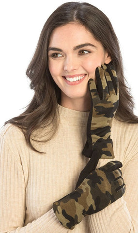 *Olive Green Camo Gloves