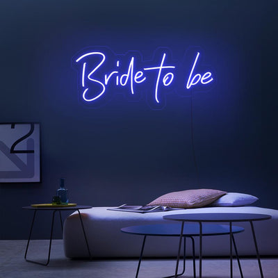 Bride To Be Neon Sign