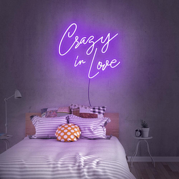 Crazy In Love Neon Sign