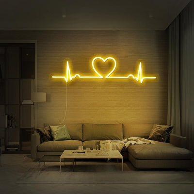 Love Beat Neon Sign