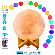ProjectorPro 3D LED Moon Lamp - ProjectorPro