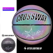 GLOWING GALAXY BASKETBALL