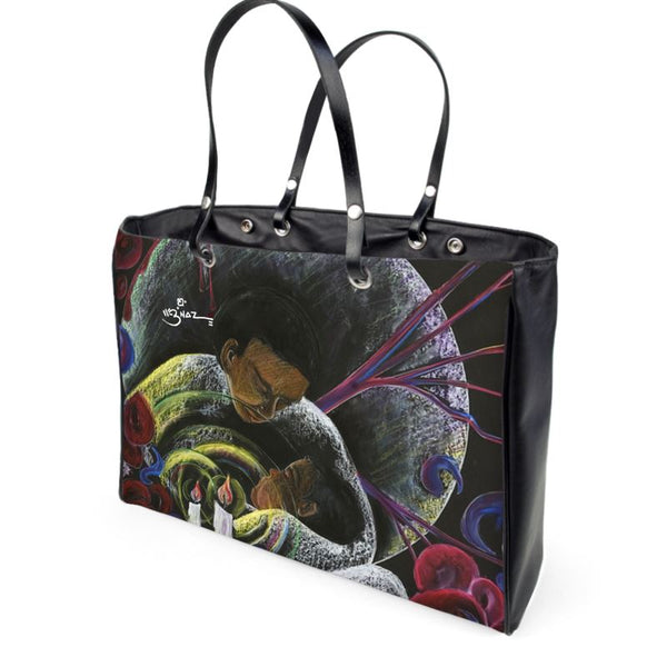 Sickle Cell Awareness Art Handbag