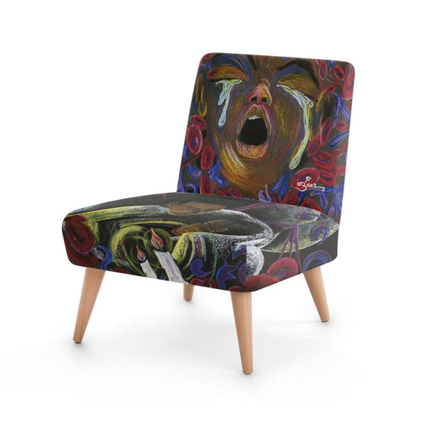 Sickle Cell Signature Pain Empathy Art The 12-Hour Wait Chair