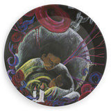Need Not Suffer Alone SCD Awareness Set of 4 Plates
