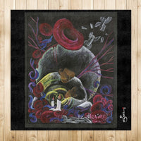 "Need not Suffer Alone  SCD Art 50.4"" x 50.4"" Rug"