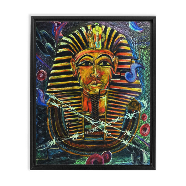 Warrior's Path Framed Canvas Wraps