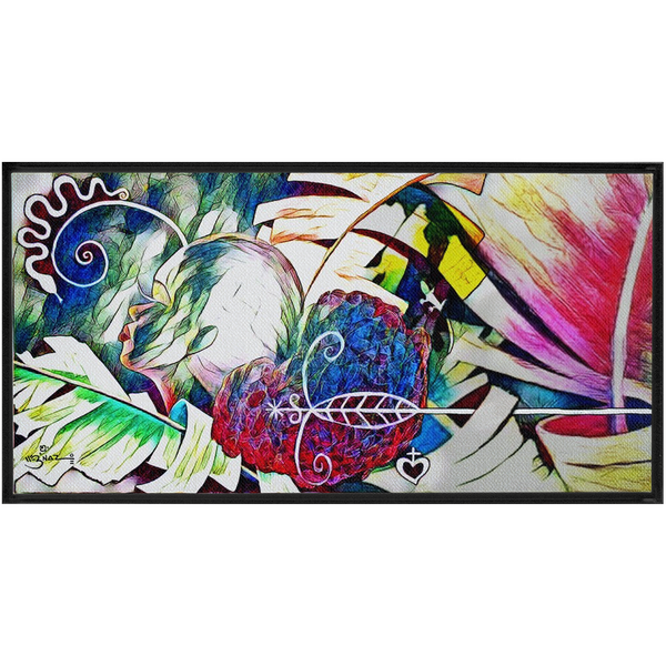 Soul's Bliss - Framed Extra Large Canvas