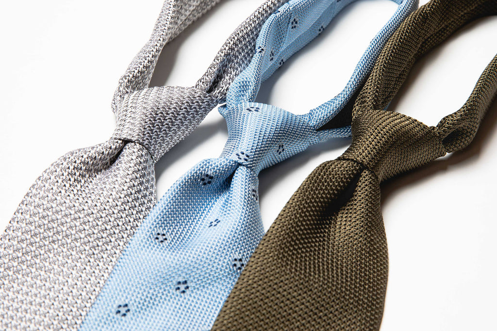 Khaki Knitted Tie
