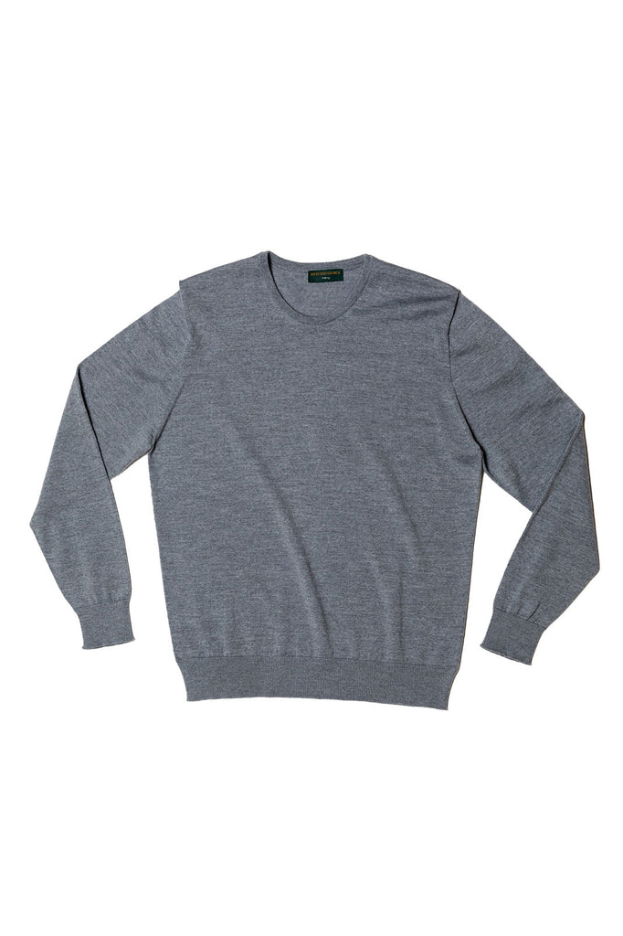 Long Sleeve Marl Crewneck