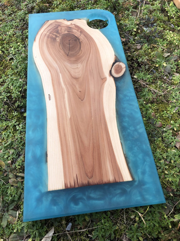Eastern Red Cedar Charcuterie Board (2)