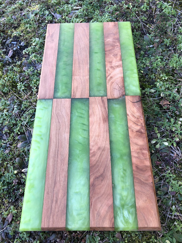 Cherry and Epoxy Charcuterie Board (17)