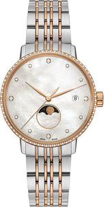 SILVER AND GOLD  Dial METAL STRAP ANALOG Watch - For WOMEN