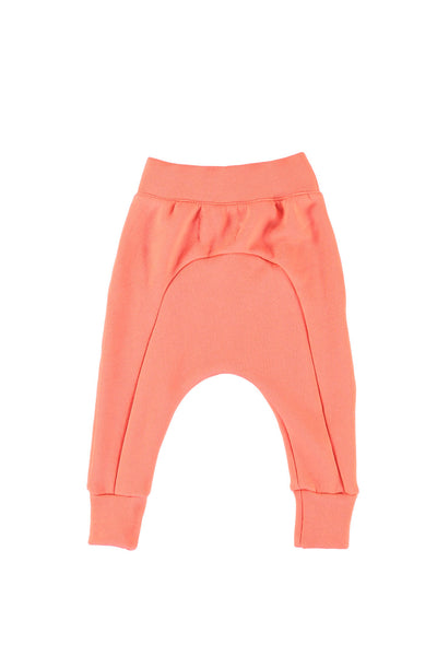 Seamed Harem Pants - Coral