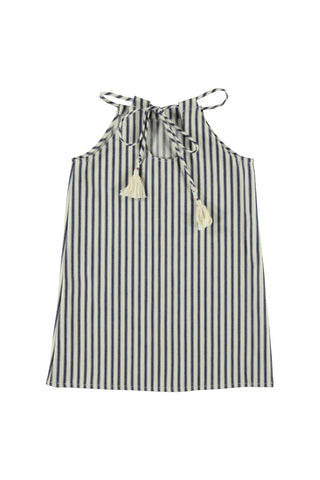 Halter Dress - Stripe