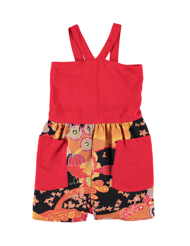 Hepburn Dress - Japan/Red