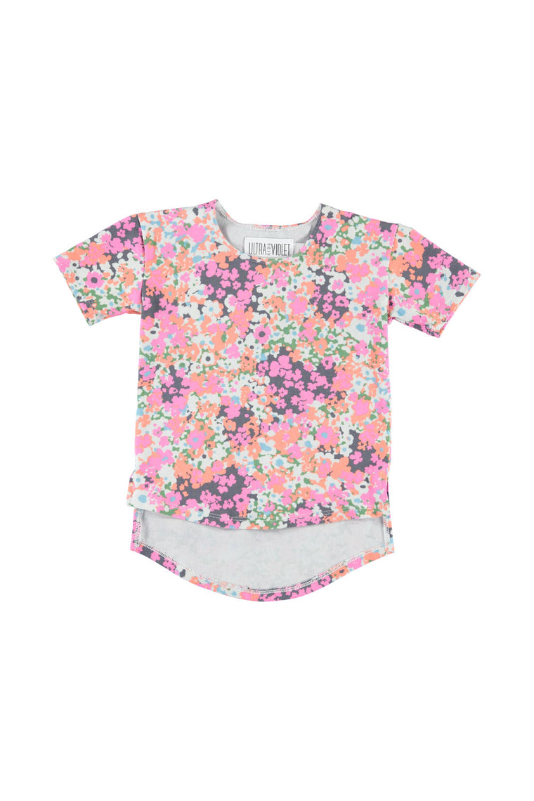 Hi-Low Tee Shirt - Liberty Floral