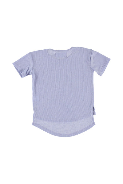 Hi-Low Tee Shirt - Lilac