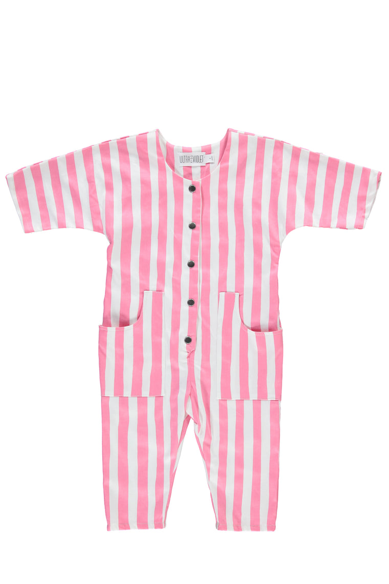 Joey Jumper -Pink Stripe