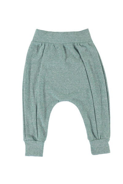 Seamed Harem Pants - Kale