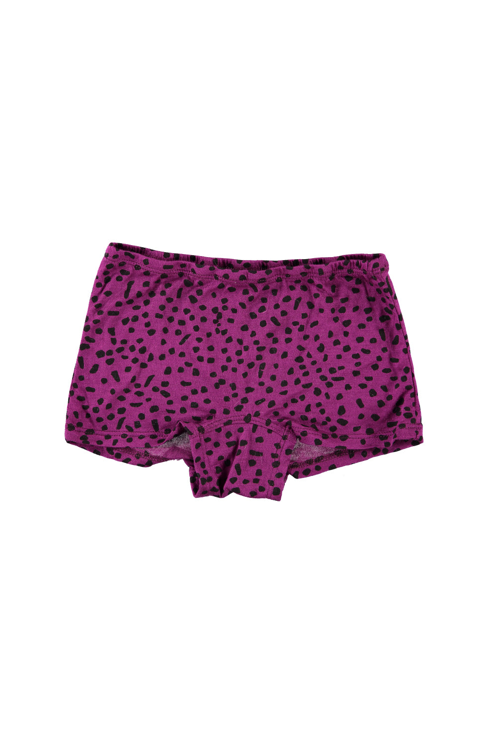 Boy Short Undies - Magenta Dot