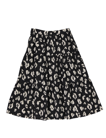 Peasant Skirt - Cheetah