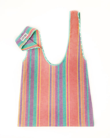Farmers Market Bag - Sherbert Stripe