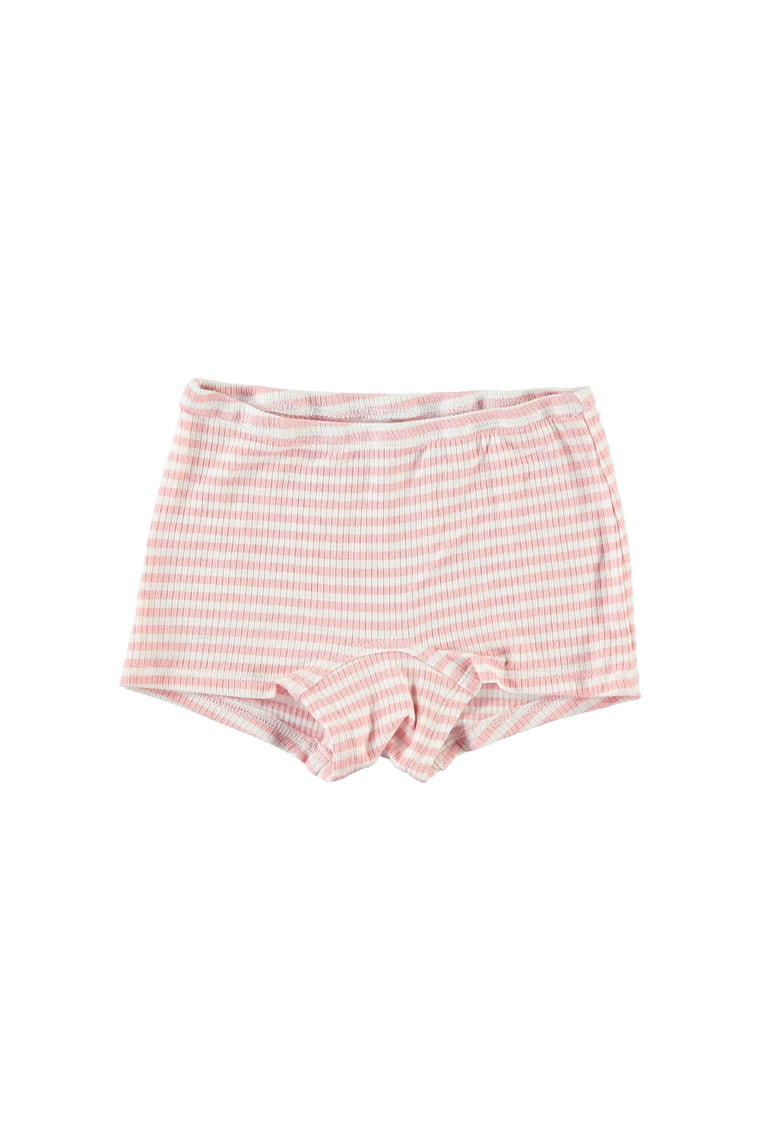 Boy Short Undies - Pink Stripe