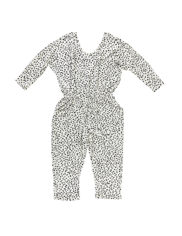 Playsuit - White Dot