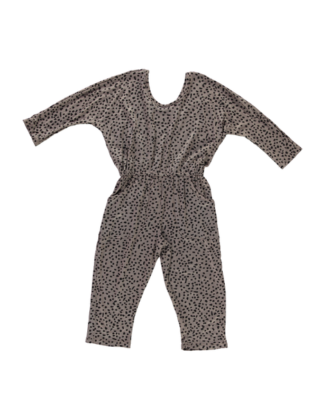 Playsuit - Grey Dot