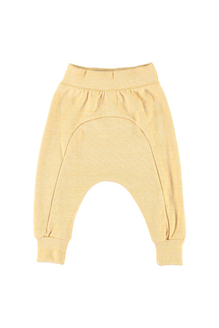 Seamed Harem Pants - Banana