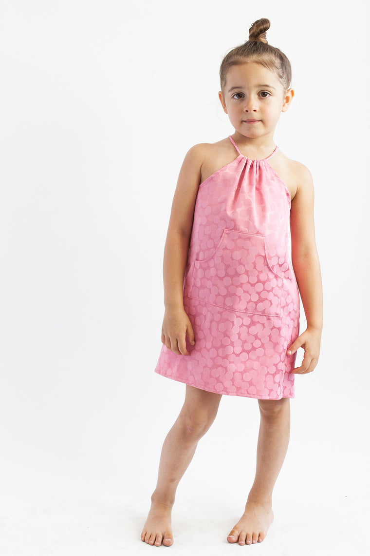 Halter Dress - Sherbert