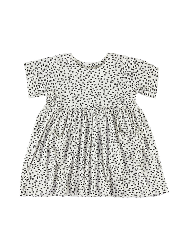 Shmock Dress - White Dot