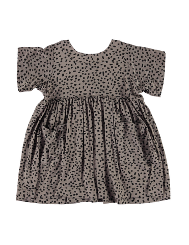 Shmock Dress - Grey Dot